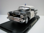 Chevrolet Bel Air 1957 Police Chief 1:18 Lucky Die Cast